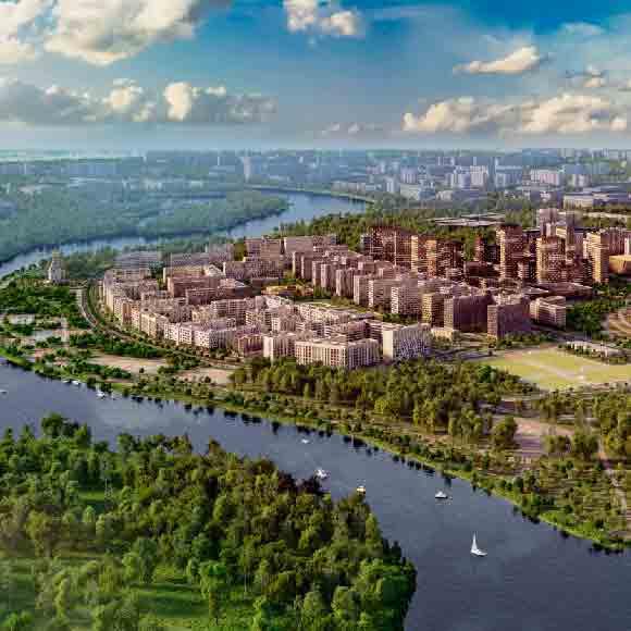 Жилой комплекс «Город на Реке Тушино-2018»